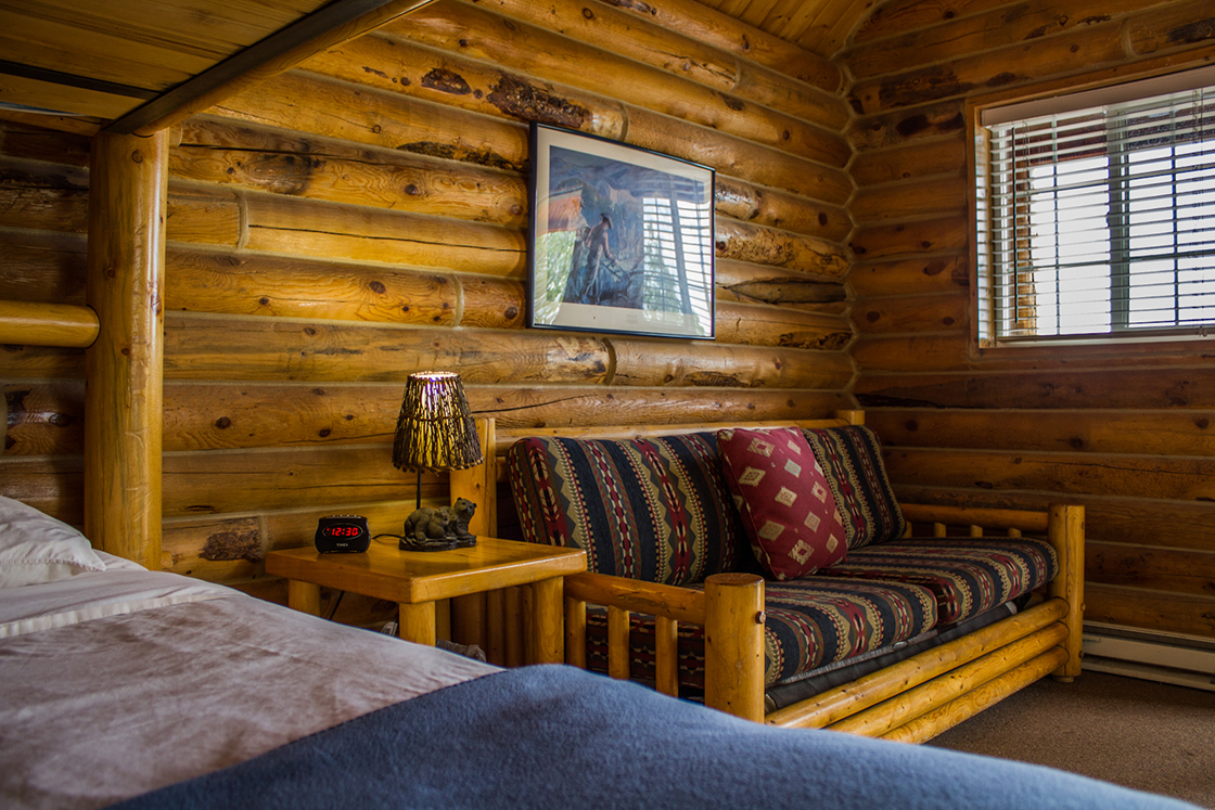 Review a peaceful weekend at zion ponderosa ranch resort for Ponderosa cabins california