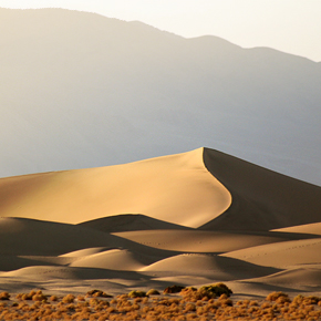 Photo Tour: Hiking Mesquite Flat Sand Dunes in Death Valley National Park